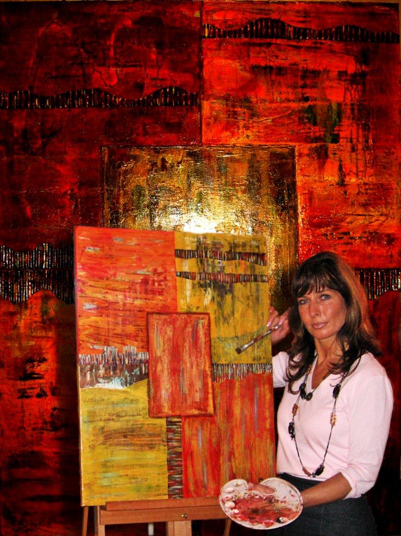 Künstlerin - Gudrun Scholz