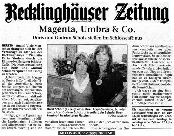 Magenta, Umbra und Co.